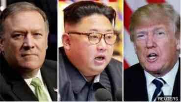 ट्रम्पको निर्देशनमा विदेशमन्त्री पोम्पियोको उत्तर कोरिया भ्रमण स्थगित