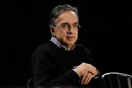 Sergio Marchionne, Chief Executive Officer, Chrysler Group LLC speaks at the Chrysler Sterling Heights Assembly plant in Sterling Heights, Mich., Monday, Dec. 6, 2010. Chrysler begins production of the Chrysler 200 sedan , a midsize replacement to the Sebring that is a key part of the company's revival. CEO Sergio Marchionne says nearly every part of the car has been changed from the old model, which was derided for its poor quality.<br />