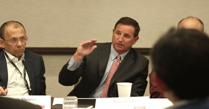 Mark Hurd day in the life at OpenWorld 5