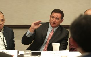 Mark Hurd day in the life at OpenWorld 3