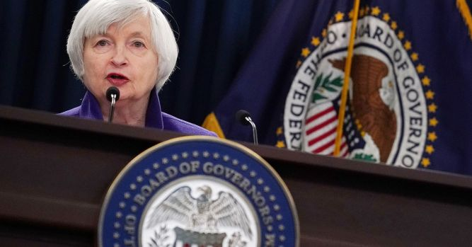 Yellen says a couple more rate increases needed so labor market doesn't 'overheat' 5