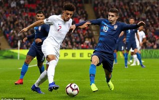 England 3-0 USA PLAYER RATINGS: Sancho dazzles on first start and Rooney shows some vintage touches 2