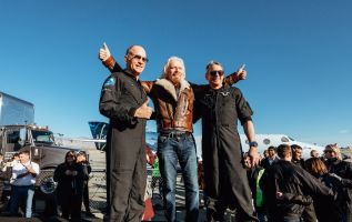 Richard Branson hopes to be in space next year with Virgin Galactic 2
