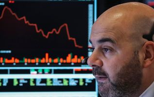 The stock market is acting like earnings growth will turn negative next year 3