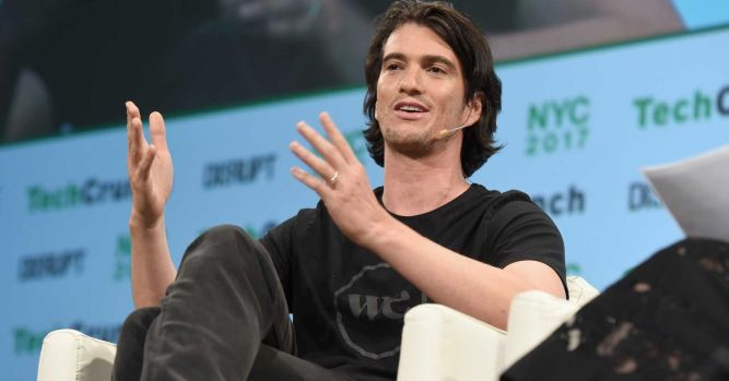 WeWork CEO says company hit $2.5 billion in annualized revenue 1