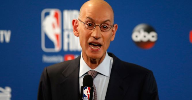 NBA Commissioner Adam Silver dismisses chatter about career switch 10