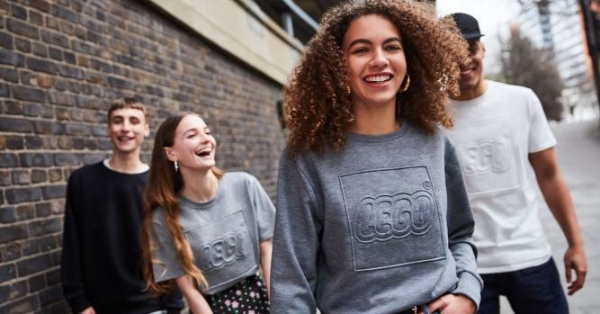 Lego launches clothes for adults but you can only buy it on Snapchat 1