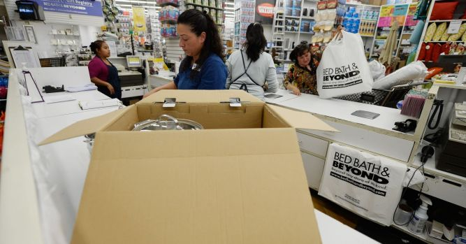 Bed Bath & Beyond soars 20% on report activists launching fight to throw out entire board 5