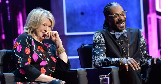 Martha Stewart had help on her deal with weed grower Canopy: Snoop Dogg 1