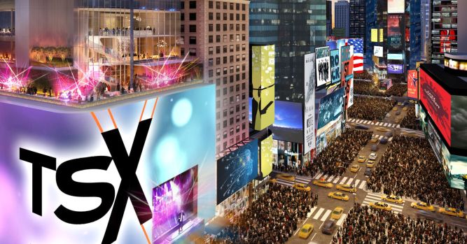 Times Square is about to get a giant new billboard called TSX Broadway 1