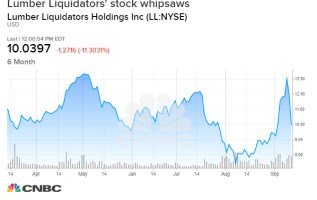 Lumber Liquidators tumbles after founder shelves buyout and sells shares for a quick profit 2