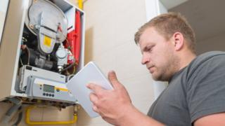 Central heating boilers 'put climate change goals at risk' 7