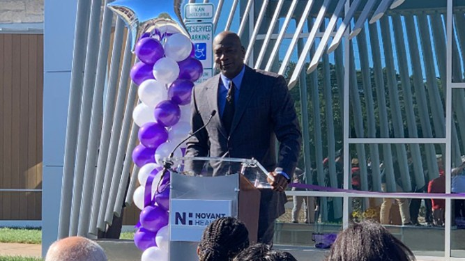 Michael Jordan-Funded Healthcare Facility Opens In Charlotte 3