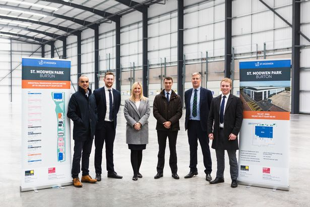 Developer completes work on latest phase of million square foot business park 2