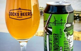 Craft brewery launches Wind Power beer to celebrate home town's role 3