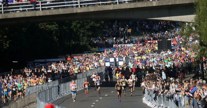 Great North run boosted North East economy by £31m last year, research reveals 1