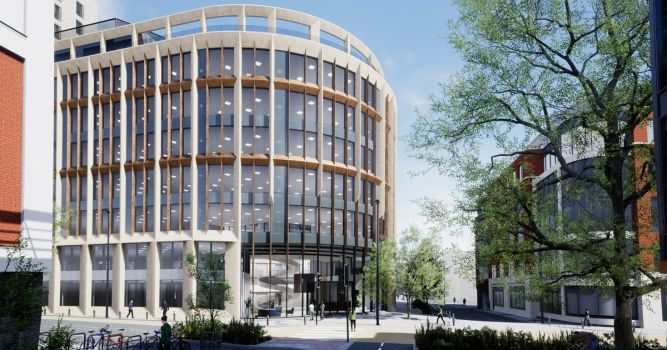 Bristol law firm to move 600 staff into high-tech 'smart' office being built on old Avon Fire & Rescue HQ site 1
