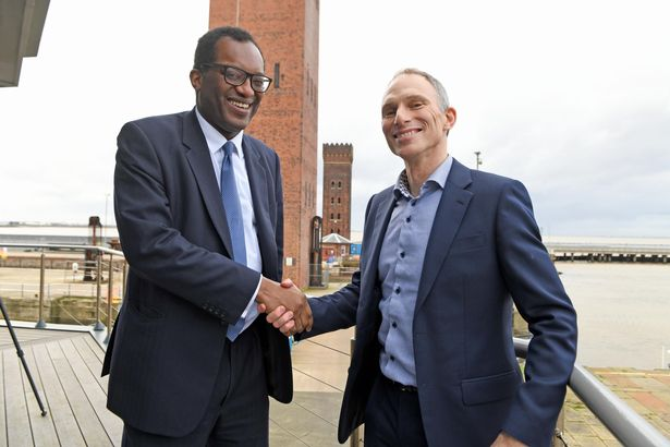 Energy Minister Kwasi Kwarteng on a future hydrogen economy powered by the Humber 4