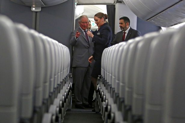 Prince Charles told of British Airways' vision of sustainable flight 4