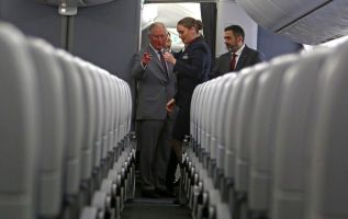 Prince Charles told of British Airways' vision of sustainable flight 2