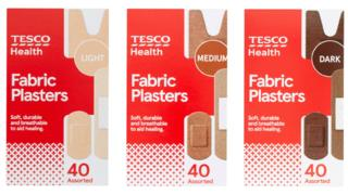Tesco to sell plasters in racially diverse skin tones 1