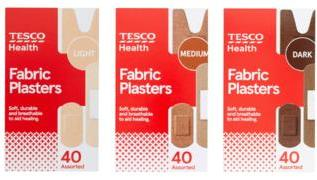 Tesco to sell plasters in racially diverse skin tones 3