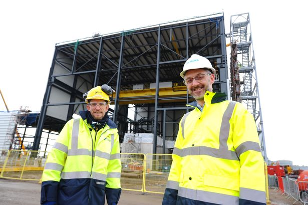 Multi-million pound contracts awarded for first-of-its-kind £350m gas power station 1