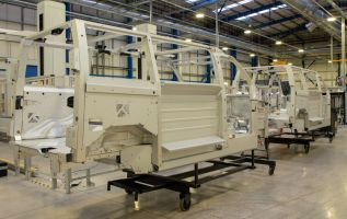 The first prototypes of LEVC's electric van roll off the production line 2