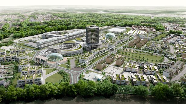 Monorail set for North West town after futuristic plans revealed 4