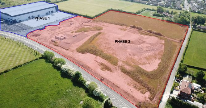 180,000 sq ft industrial and logistics development passed 3