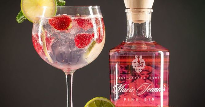 Massingberd-Mundy Distillery launches Marie Jeanne's Pink Gin 1