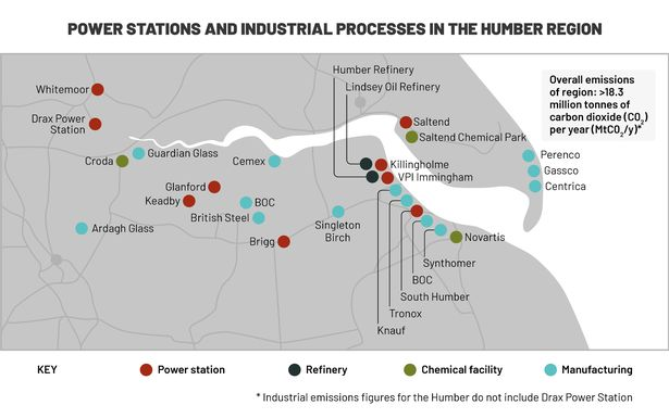 Zero Carbon Humber support outlined in letters to Energy Minister 1