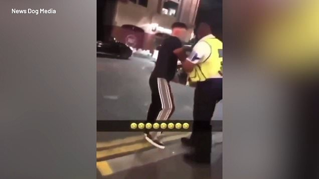 Rapper gets teeth knocked out in fight with McDonald's bouncers 2