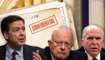 Comey Clapper Brennan traitors