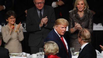 President Trump At Economic Club Of NY 700x420