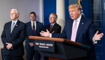 Trump at press briefing 700x420 1