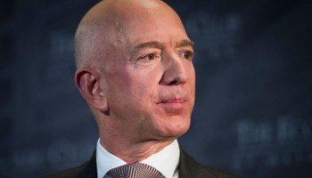 Protesters set up guillotine in front of Jeff Bezos' DC home