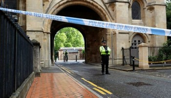UK stabbing attack that left 3 dead being treated as terror incident, police say