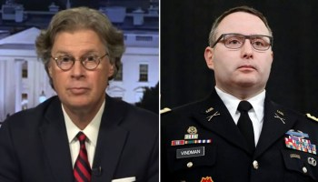The Fox News contributor told 'The Ingraham Angle' it didn't take a 'rocket scientist' to figure out Lt. Col. Alexander Vindman was the 'original source'