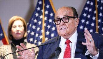 Giuliani: Trump Campaign Focusing on Supreme Court, State Legislatures