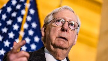 McConnell Says '100 Percent' of His Focus Is on Blocking Biden's Agenda