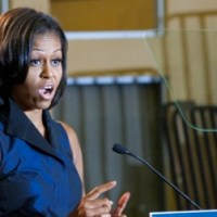 First Lady Obama visits urban youth squash program