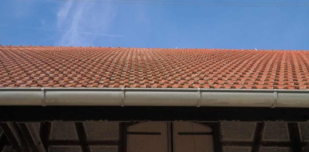 view of roof