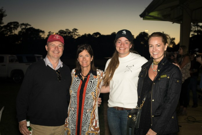 Daren with Julie Rae, Courtney Price and Maria Hartley. Photo credit: Kaylee Wroe.