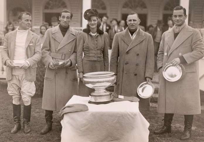 1939 Monty Waterbury Champions: Greentree - Joseph P. Grace Jr., Charles Robertson 'Bob' Skene, Thomas Hitchcock Jr., John H. Whitney. Photo courtesy of the Museum of Polo and Hall of Fame.