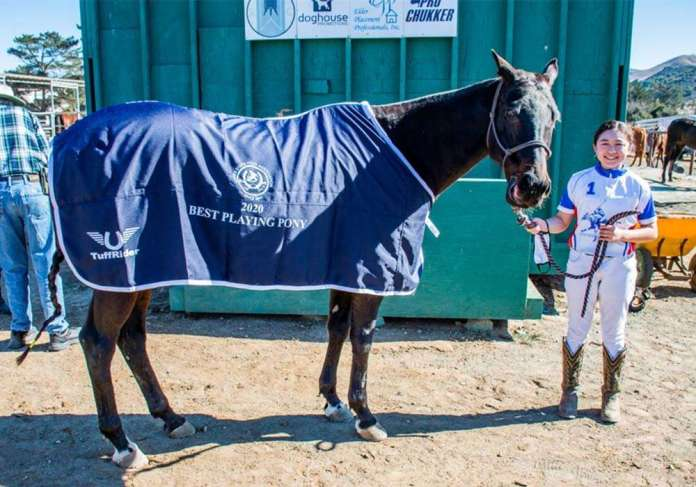 Best Playing Pony: Roxy, ridden by Juliana Kong and owned by Claire English