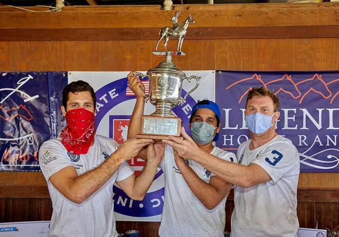 2021 Feldman Cup Champions: Texas Mustangs- August Scherer, Zain Saud, Jason Atkins.