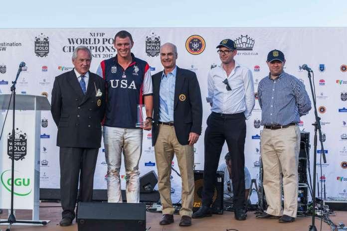 Team USA's Jesse Bray received Sportsmanship Award.