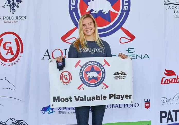 Galvin Agency MVP winner Grace Mudra.