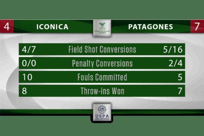 Iconica Patagones Stat Graphic